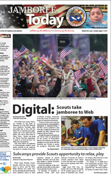 Cover Story and Photography in Jamboree Today