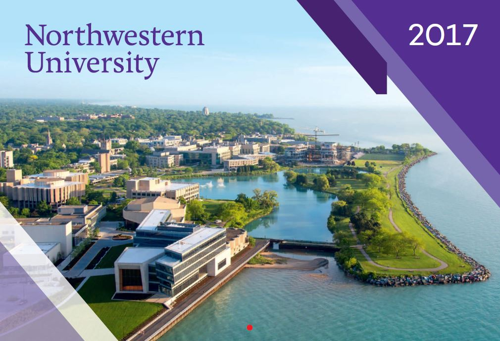 Northwestern University 2017 Wall Calendar
